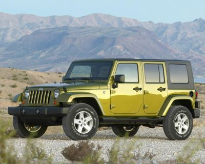 Pre-Owned 2008 Jeep Wrangler 4WD Unlimited X