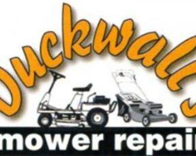 Mower Repair, Tune-ups, Most brands pick up avail 330-923-5778 duckwallsmower.com