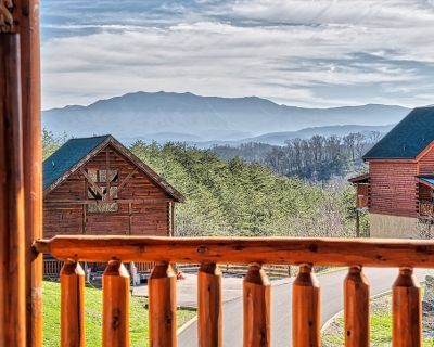 SPECTACULAR VIEW!, GREAT GAME ROOM, 50% off Zip Line - Sevierville