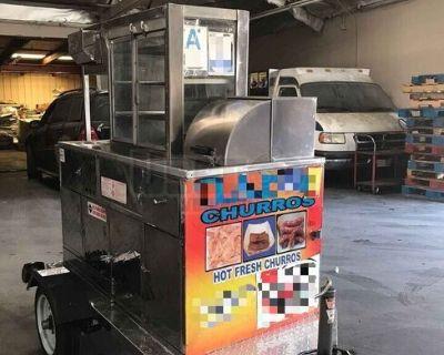 2019 Kareem Churros Cart / Used Street Food Vending Concession Cart