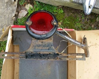 Vintage Ford Model A Duolamp TailLight  W/ Original Duolamp Bracket