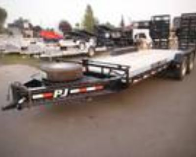 2022 PJ Trailers Flatdeck H5 7' X 20' Pro-Beam Equipment