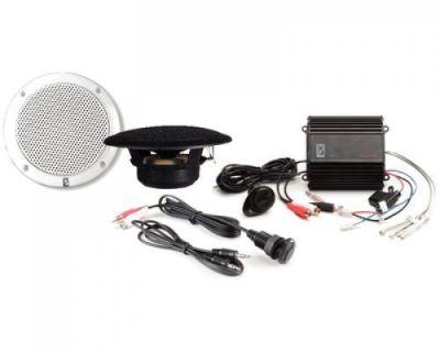 Poly-planar #mp3-kit-a - Mp3 Kit W/me52 Amp, Ma4055 Speaker & Ic3.5 Panel - Wht
