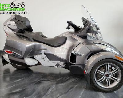 2012 Can-Am Spyder RT Audio & Convenience SE5 3 Wheel Motorcycle Kenosha, WI