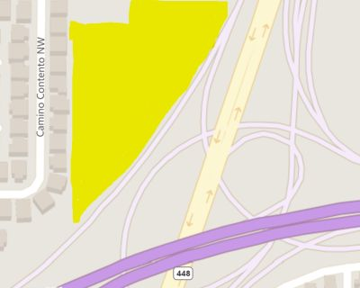 5 Acres I-40 & Coors (MX-T Zoning-many possible Uses) $4.00 a ft