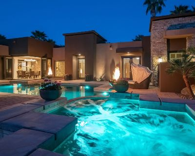 Rancho Mirage Estate. Basketball, fire pit, pool/spa, putting green w sand trap. - Rancho Mirage