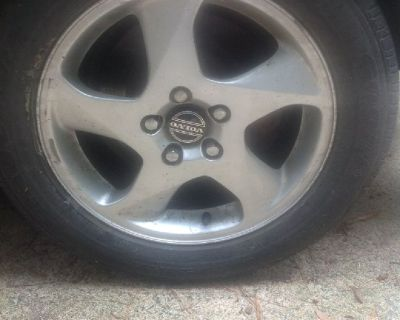 Tires: Four Goodyear Steel-belted radial P205/55R16 on alloy wheels