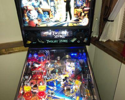 TWILIGHT ZONE classic pinball game