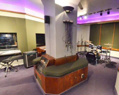 Music Studio Proper with Piano + Drums, Toronto