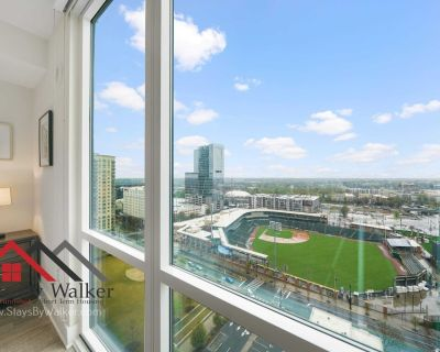 High Rise Lux Condo King Bed 18th Floor Great Views! - Third Ward