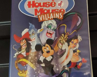 House of mouse villains vhs
