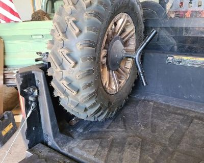 I have a Polaris Lock and Ride Spare Tire Carrier for sale (tire not included). I