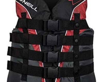 ISO life vests similar to these