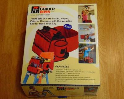 Hedges Ladder Boss 90202 Tool Bag Caddy New in Package