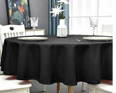 Black table cloths!