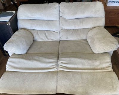 FREE Double Recliner Loveseat