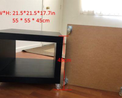 Coffee tabl, Sofa table, Bedside cabinet