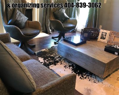 We offer House cleaning & organizing services