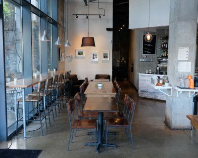 Unique Spacious Coffee Shop with great Natural Lighting, High Ceiling and Multiple Backdrops, Atlanta, GA