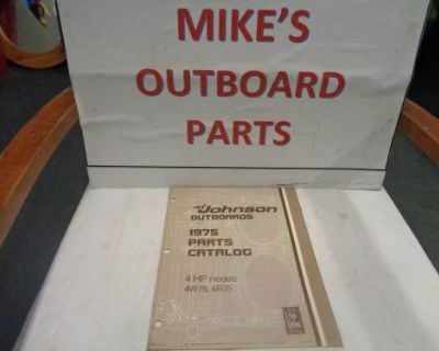 1975 Johnson Outboard 4hp Parts Catalog @@@check This Out@@@