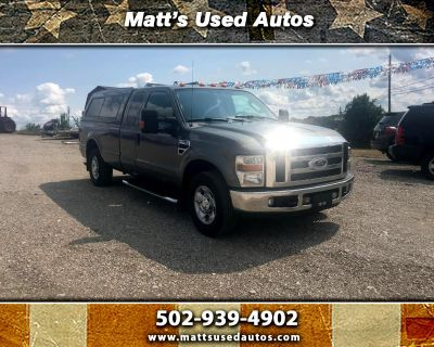 2010 Ford F-250 SD XLT SuperCab Long Bed 2WD