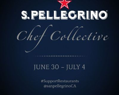 #SupportRestaurants with the S.Pellegrino Chef Collective