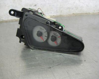 2002 2003 2004 Ford Focus Svt Factory Oil Pressure & Temperature Gauge Pod