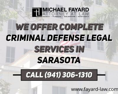 Michael Fayard, Attorney at Law - Sarasota Criminal Defense Attorney