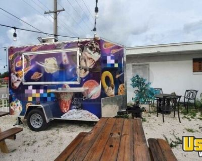 Very Neat 2019 8' Beautiful Street Food Kitchen Concession Trailer