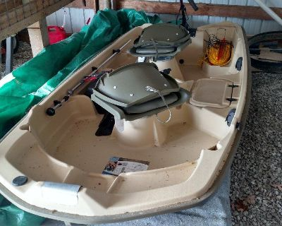 Sun dolphin pro series fully loaded  fishing boat