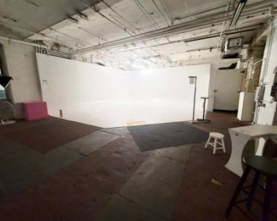 Large Industrial Loft Studio with Infinity Backdrop +More, Paterson, NJ
