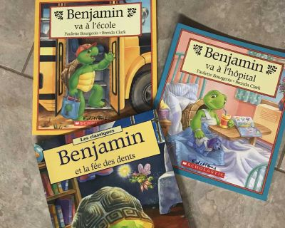 French FRANKLIN books - new