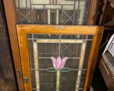 LIBERTYVILLE- Old and Vintage Books, Good Garage Items, Patio Furniture, Stained Glass Windows.