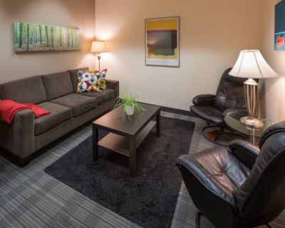 Small Meeting/Counseling Room near YVR Airport, Marine Dr & Richmond, Vancouver