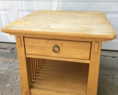 Project end table
