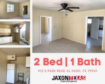 912 S Park St #PARKREAR, El Paso, TX 79901 2 Bedroom Apartment