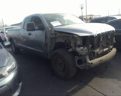 Salvage Gray 2007 Toyota Tundra