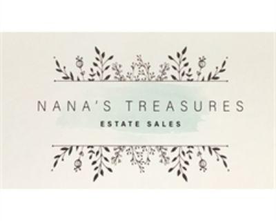 Nana s Treasures is hosting a great sale in a beautiful neighborhood