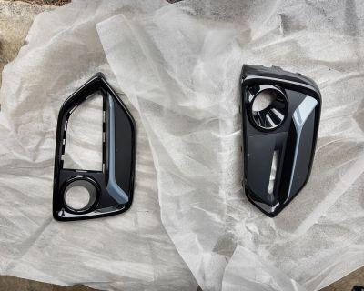 Washington - 2020 Honda Civic Front & Rear Garnish Kit Sonic Grey Pearl