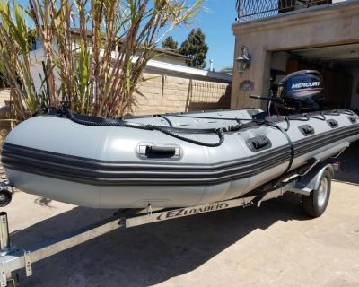 2016 15' Inmar Inflatable Boats 470-PT