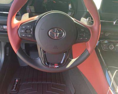 GR Emblems 2020 Toyota Supra FloorLiner and Steering Wheel