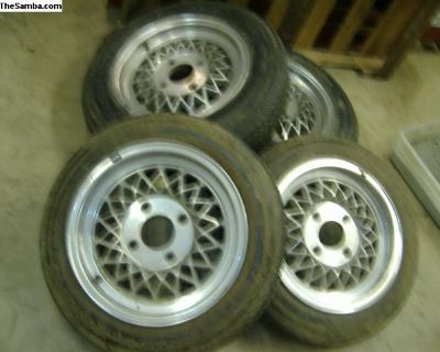 VW Bug mags and tires