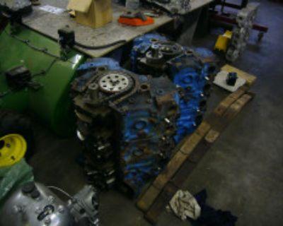 2 454 long blocks, Marine engines, 4 bolt mains