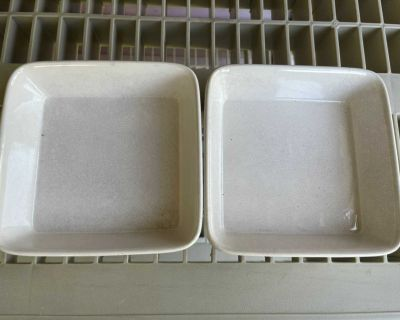 Square Serving Dishes