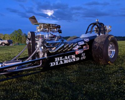 Front Engine BBC supercharged dragster