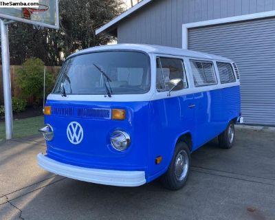 1979 VW Bay Window Bus, restored 24k OBO