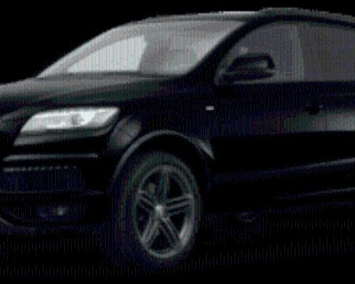 2013 Audi Q7 S-line Prestige