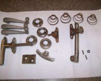 Door handles 30s MoPar and vacuum wipers
