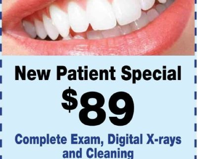 Teeth Cleaning, Exam & X-Rays (Springfield)VA