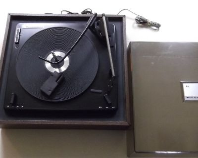 Restored 1972 Vintage Voice of Music 4 speed record player/changer